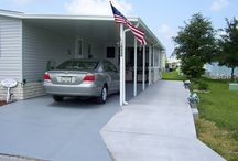 Carports / Showcase of the different types of carports that we can build