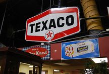 Texaco Signs and Nostalgic Paraphanalia