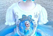 Frozen Princess Elsa-Anna Birthday Tutu Sets