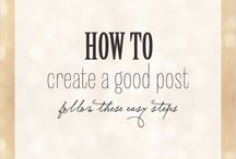 Blogging tips / by Janet Hodnett