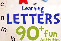 Preschool-Learning Letters / by Julie