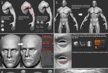 3D Sculpture Tutorials