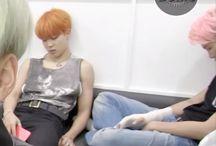 BTS dormindo