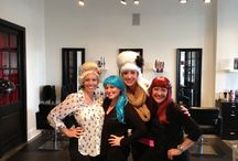 Wig Out 2013!! / This is how we celebrate Halloween at Salon Muse