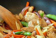 Stir fry sauces and recipes / by Barb Stedillie