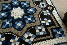 crochet, alfombras