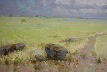Meadow Oil Paintings