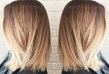 hair - sombre blond