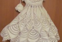 children crochet dress