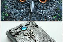 Polymer Clay Art Journal