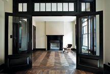 black doors vs white doors / by Courtney Clay