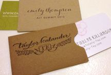 Paper, Stationery, Typography, and Letterpress