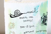 Happy Mail / Ideas for Happy Mail and ones I've received. The little things are the ones that often mean the most :) / by Divas With A Purpose