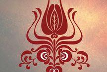 Folk Art - Hungary / Hungarian folk motifs