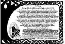 Epona Celtic Goddess and horses