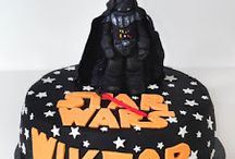 Star Wars cake with Lord Vader