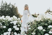 Bohemian Wedding Inspiration / Wedding inspiration for the modern boho bride to inspire the whimsical weddings style of flowy lace dresses, flower crowns, and fun style.
