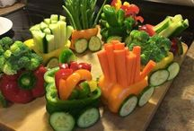 Veggies boats