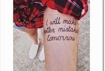 Tattoos & piercings  / by Cassie Doolin