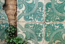 Tiles | Mosaics / beautiful designed tiles of Isramic,Art nouveu etc