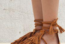 Sandales plate
