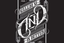 Typography / Awesome fonts and great use of text.