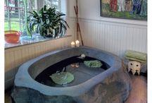 Banheira de Cimento