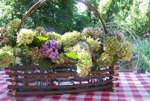 Cottages / I dream of a cottage. Not too big and not too little but filled with beautiful colors and old fashioned touches.  You are welcome to visit Poofing the Pillows www.poofingthepillows.com and Lemon Lane Style lemonlanestyle.com for more homey cottage inspiration.
