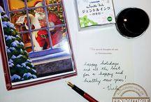 Holiday Season / Your answer to penmanship queries when the holiday season kicks in.