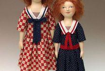 Deanna Hogan - Blue Heron Dolls - Doll Designs