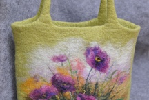 felt bags,etc / Amazing felting