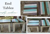 End Tables / Simply Southern ~ End tables