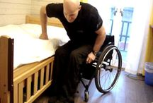 Transferring Like a Champ / Pins that show how to transfer yourself (move yourself while not standing) from your wheelchair to the couch, bed, car, boat and wherever else your heart desires. See awesome videos at SPINALpedia.com - 4,000+ organized spinal cord injury videos.