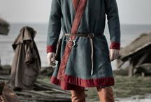 Early Medieval Men Clothing