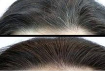 Magical grey hair
