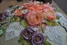CRAZY RIBBON EMBROIDERY / by Pamelita Carmasweeta