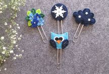 Winter - Christmas Planner clips