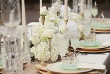 Wedding Tables / Inspiration for wedding table decoration.
