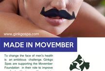 Cape Town Spas and Movember / Show your Support in changing the face of men's health with Movember this month. Each of our Spa's will donate R5 for every spa treatment or spa voucher purchased during the month of November 2014. We invite you to join us in this challenge and use your treatment time to make a difference. #capetownspamovember