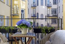 Beautiful Outdoor Places / Inspiration for balconies, terraces and pergolas.