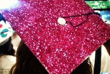 graduation. / I don't even think I'm having a party for graduation, but I just wanted to make a graduation board just in case :)