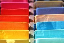 De belles couleurs... / Voici les couleurs qui inspirent nos collections et nos modèles.