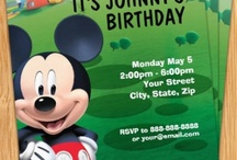 Mickey Mouse birthday / by Terrie Toombs