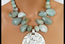 gem stones necklace