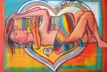 Valentine's Day / Paintings by Diego Manuel / by Diego Manuel
