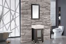Solid Wood Beauty - MTD Vanities / By only using solid oak to construct their vanities, MTD is making sure you have beauty that lasts. They also include the vanity top, sink, faucet and mirror so decrease stress for shoppers looking for the perfect set.