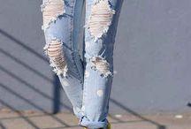 transformando jeans