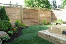Skjerming, avgrensning og romdeling i hagen