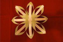 vánoční tvoření z papíru