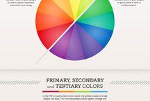 colour schemes/palettes